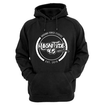 MAGNITUDE 9.5 CREW HOODIE (for crew members only) - $90